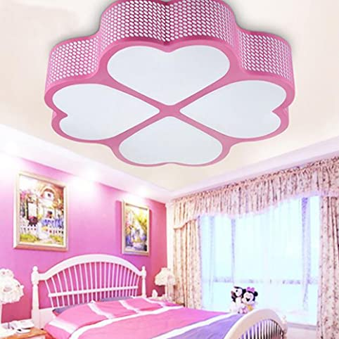 TiptonLight Pink Ceiling Lighting with Heart-shaped and Changes ...