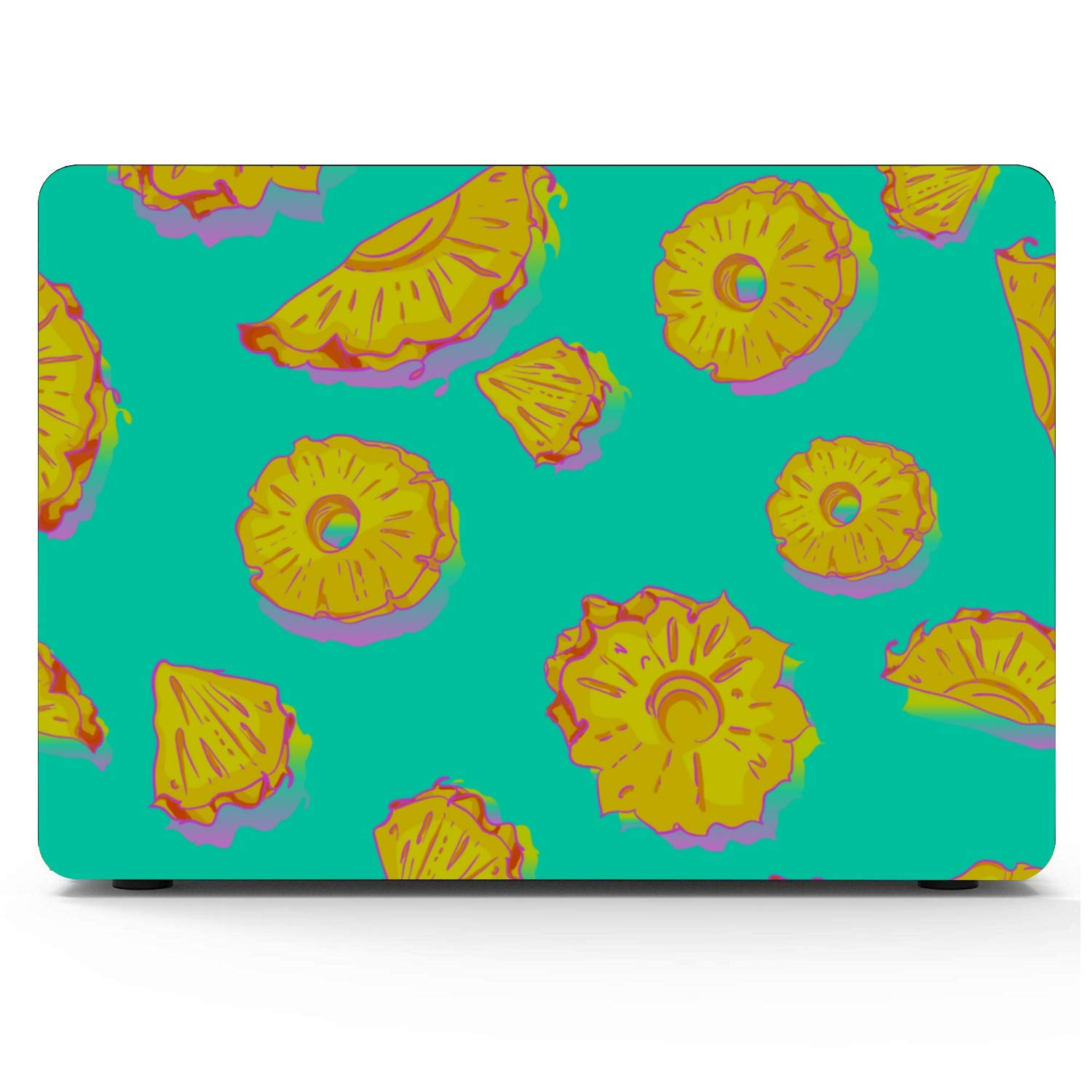 Laptop Covers Summer Fashion Fruit Pineapple Love Plastic Hard Shell Compatible Mac Air 11 Pro 13 15 Mac Computer Cover Protection for MacBook 2016-2019 Version