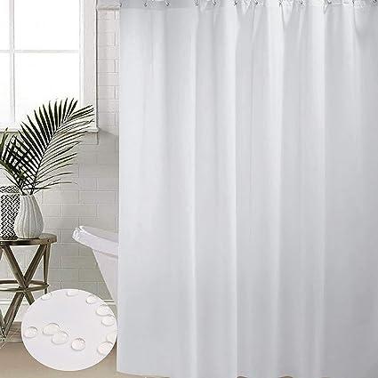 Foto Tende Da Bagno.Bstt Tende Da Doccia Antimuffa Impermeabile Bianca Tenda Decorativa
