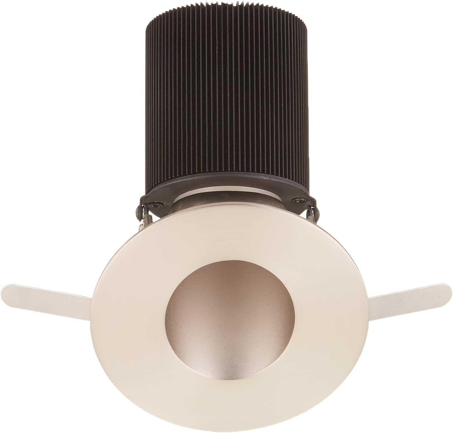 Warm Light 2700K WAC Lighting HR-2LED-T409S-27BN Tesla LED 2-Inch Adjustable 30-Degree to 45-Degree Round Trim with 15-Degree Beam Angle