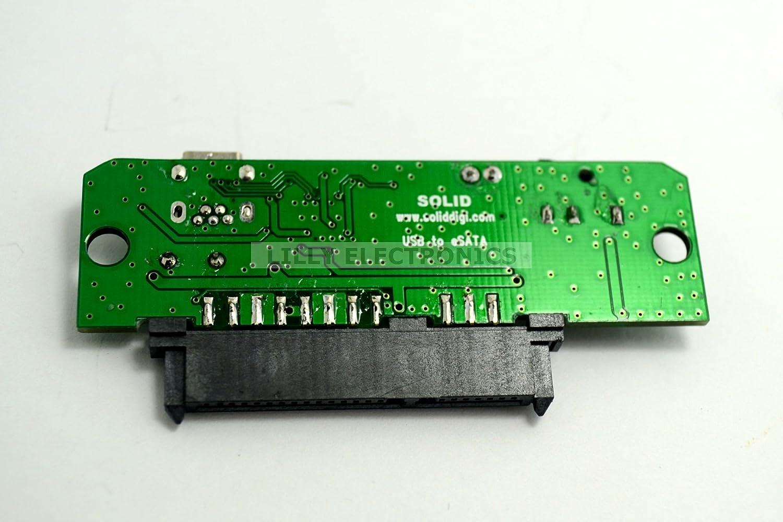 SolidDigi USB 2.0 to IDE SATA 2.5 3.5 Hard Drive Converter