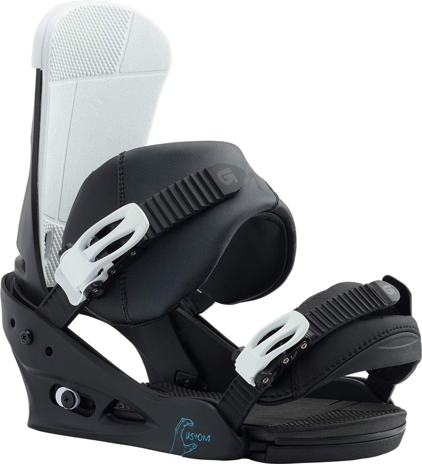 Burton Custom Snowboard Bindings Black/Multi Sz M (8-11)