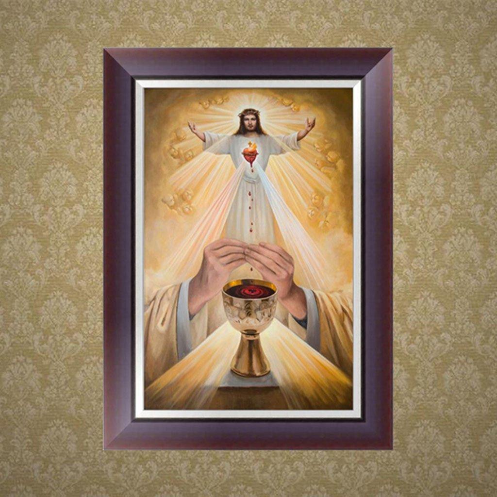 bordado de diamantes Pintura de bordado de Ranuw pintura religiosa de diamantes de imitaci/ón punto de cruz para decoraci/ón de regalo bricolaje 5D