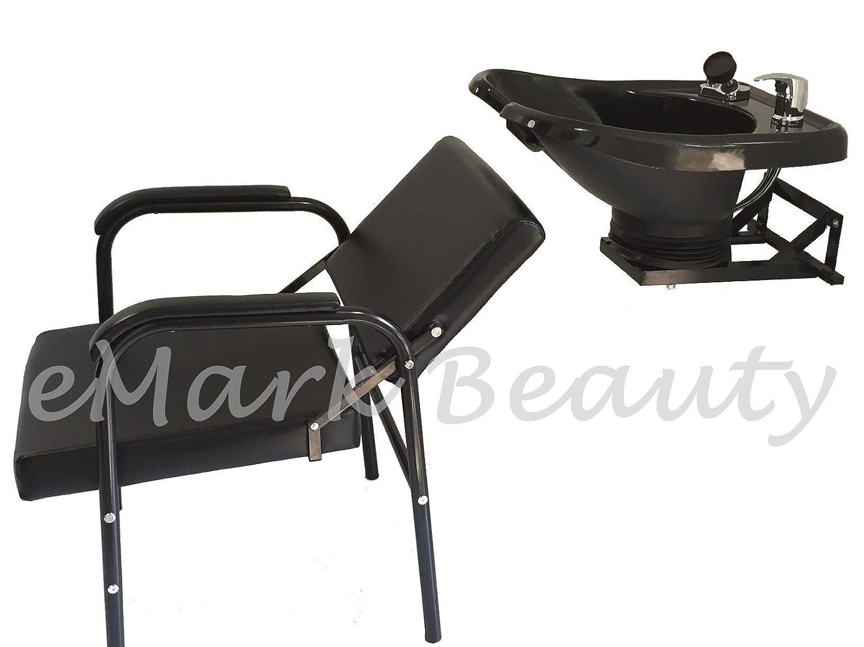 Amazon.com: Salon Backwash Shampoo Tilt Bowl Sink Wall Mounted ...