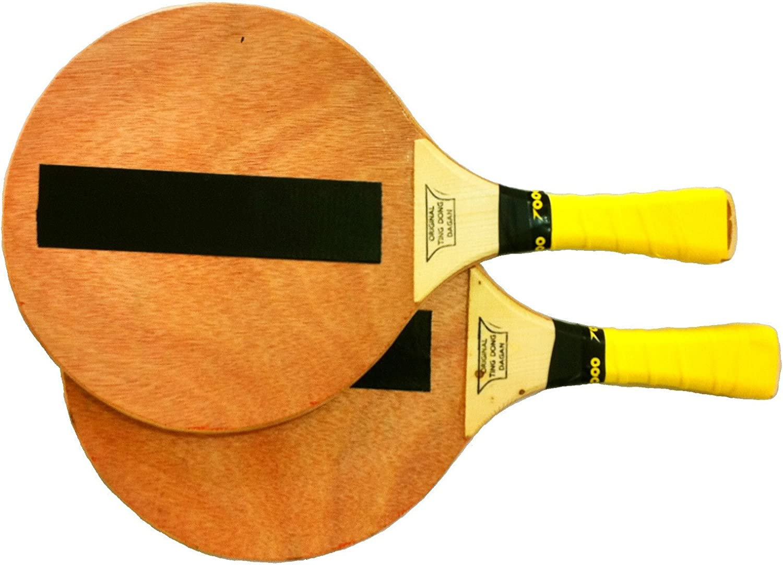 TING-DONG Israeli Beach Game Matkot  2  Racquet Matkot Paddles profesion Ball