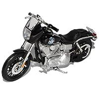Harley Davidson 2008 Dyna Super Glide Sport Schwarz Blister Clay Sons Of Anarchy 1/18 Maisto Modell Motorrad