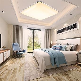 ETiME Ultraslim LED Deckenleuchte 45cm Deckenlampe Modern Wohnzimmer ...