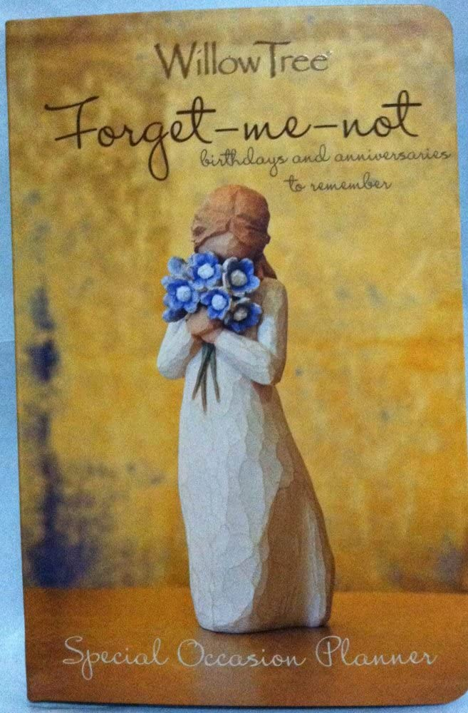 Willow Tree Forget Me Not Special Occasion Planner