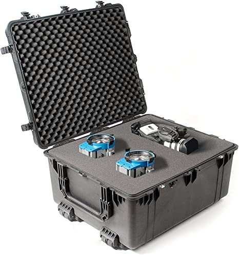 Pelican 1690 Transport Case Negro - Caja (Negro, Polipropileno (PP), 762 mm, 635 mm, 381 mm, 19,5 kg): Amazon.es: Informática