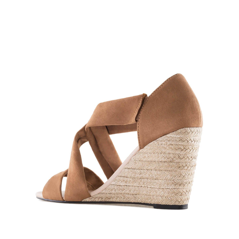 5c55c002bdadec Chaussures compensées en suèdine.pour Femmes.Petites et Grandes Pointures  32/35 et ...