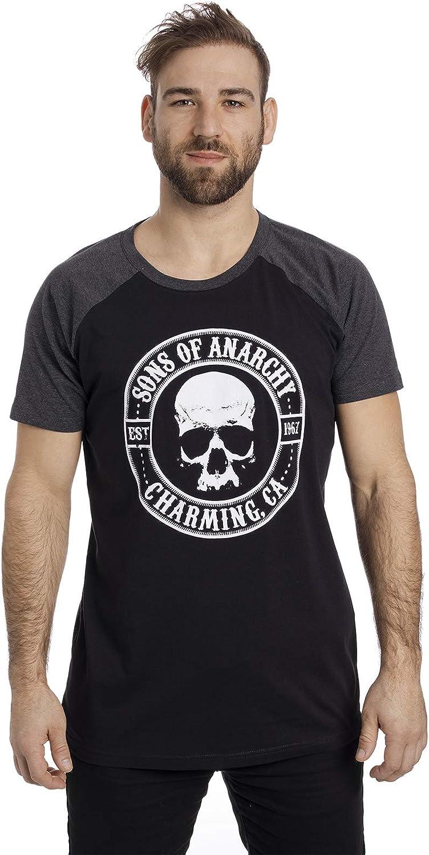 Sons of Anarchy Charming Raglan T-shirt