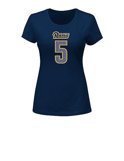 huge selection of 46a86 b71c6 Amazon.com : NFL LA Rams Nick Foles 5 Women's Her Highlight ...