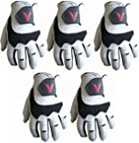 5 100% Cabretta Leather Golf Gloves V Logo Gator