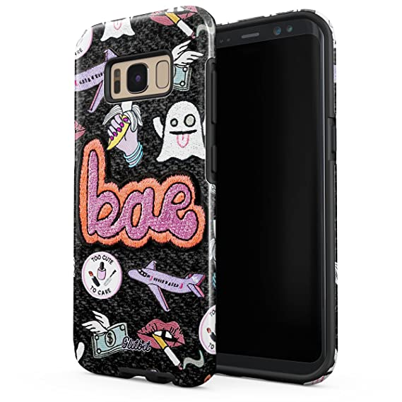 amazon com glitbit samsung galaxy s8 case bae kawaii aesthetic