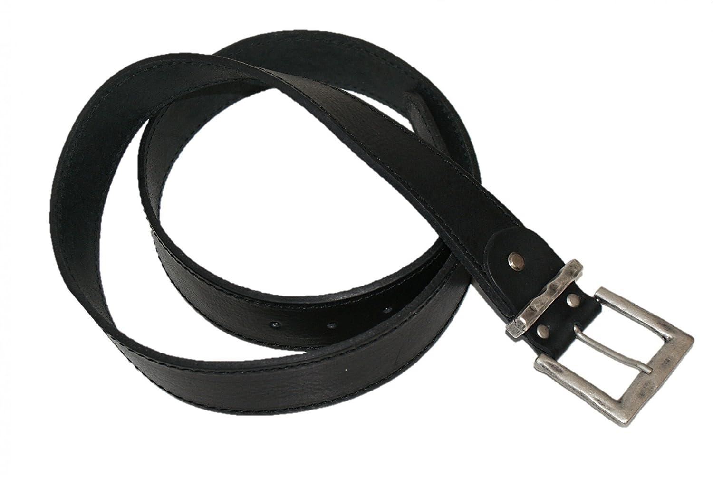 Gr. 90-150cm Trachtengürtel Trachten-Gürtel f.Lederhose Ledergürtel schwarz