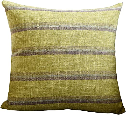 Amazon.com: XXT-pillow Linen Pillow Fabric Pillow Large ...