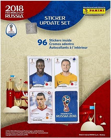 PANINI WORLD 2018 RUSSIA ACTUALIZACIÓN UPDATE 96 CROMOS STICKERS