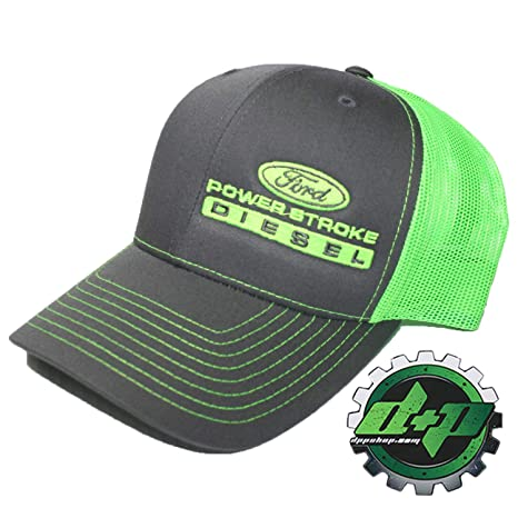 fbf17db44ff Image Unavailable. Image not available for. Color  Diesel Power Plus Ford  Powerstroke Richardson 112 hat Truck Charcoal Gray ...