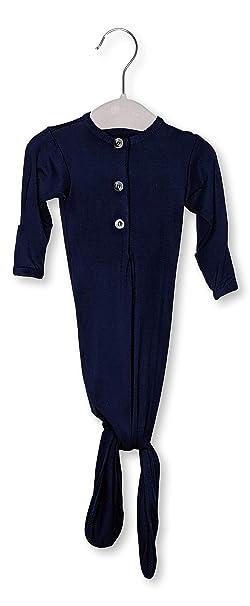 Amazon.com: ELIVIA & CO. Vestido de nudo para recién nacido ...
