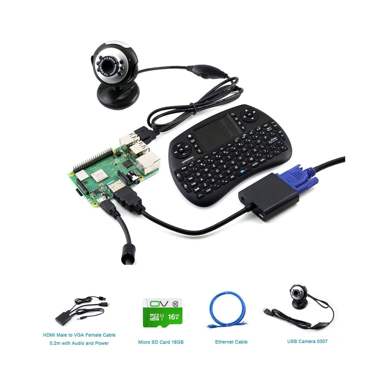 Amazon com: Raspberry Pi DIY Open Source Electronic Hardware Kits(CQ