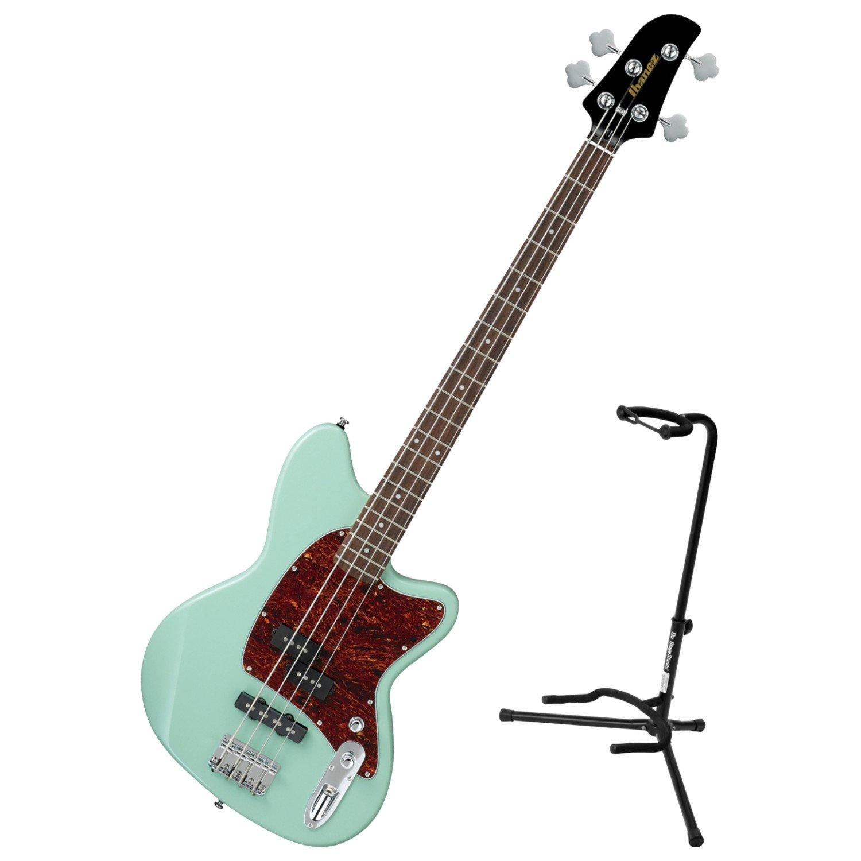 Ibanez TMB100 Talman 4 String Electric Bass Mint Green w/ Stand TMB100 BUNDLE
