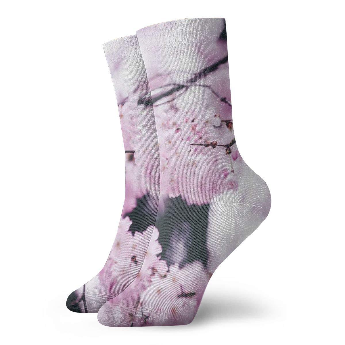 Sakura Unisex Funny Casual Crew Socks Athletic Socks For Boys Girls Kids Teenagers
