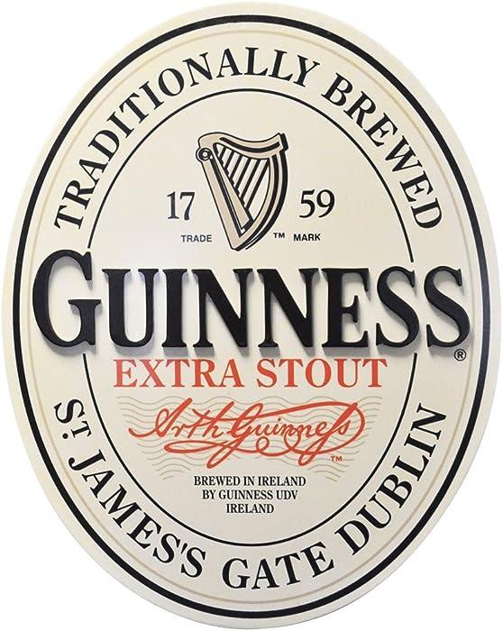 Guinness Traditional St James Gate Dublin Ireland Label Wall Art