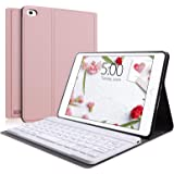 Keyboard Case Compatible with iPad Mini 5/4/3/2/1, SENGBIRCH iPad Mini Case with Keyboard Removable Wireless Connect, Soft Ru