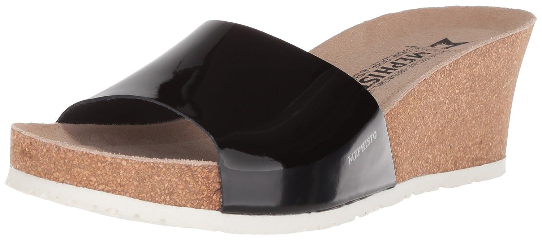 Mephisto Women's Lise Slide Sandal B07693PJ6P 6 B(M) US|Black Patent