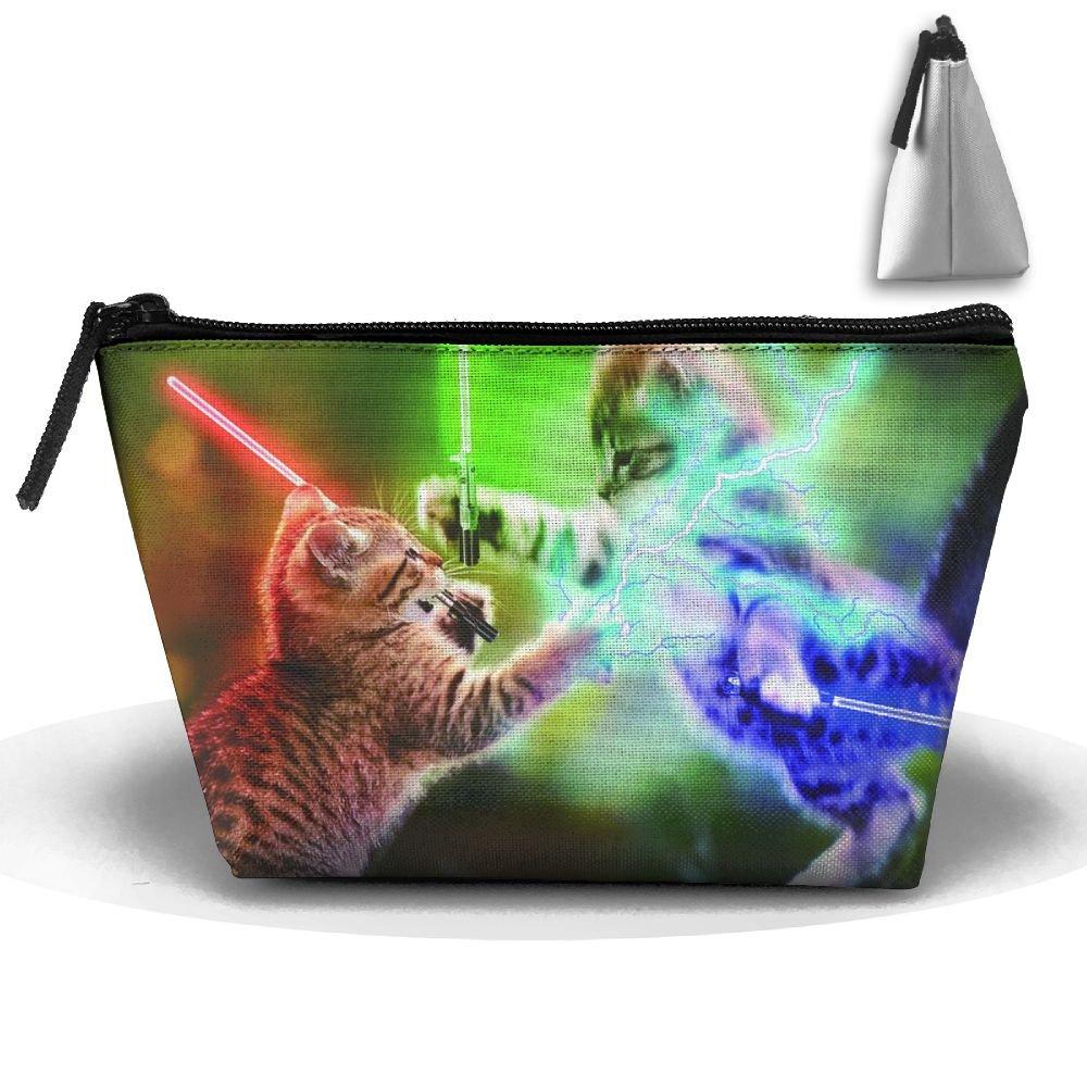 bbf6b7aeab2e 30%OFF Enuain Playing Cute Kittens Makeup Bag Travel Cosmetic Pouch ...
