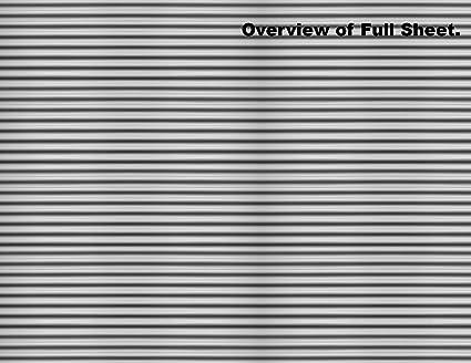 O Scale Stone Model Train Scenery Sheets –5 Seamless 8.5x11 Coverstock Gray
