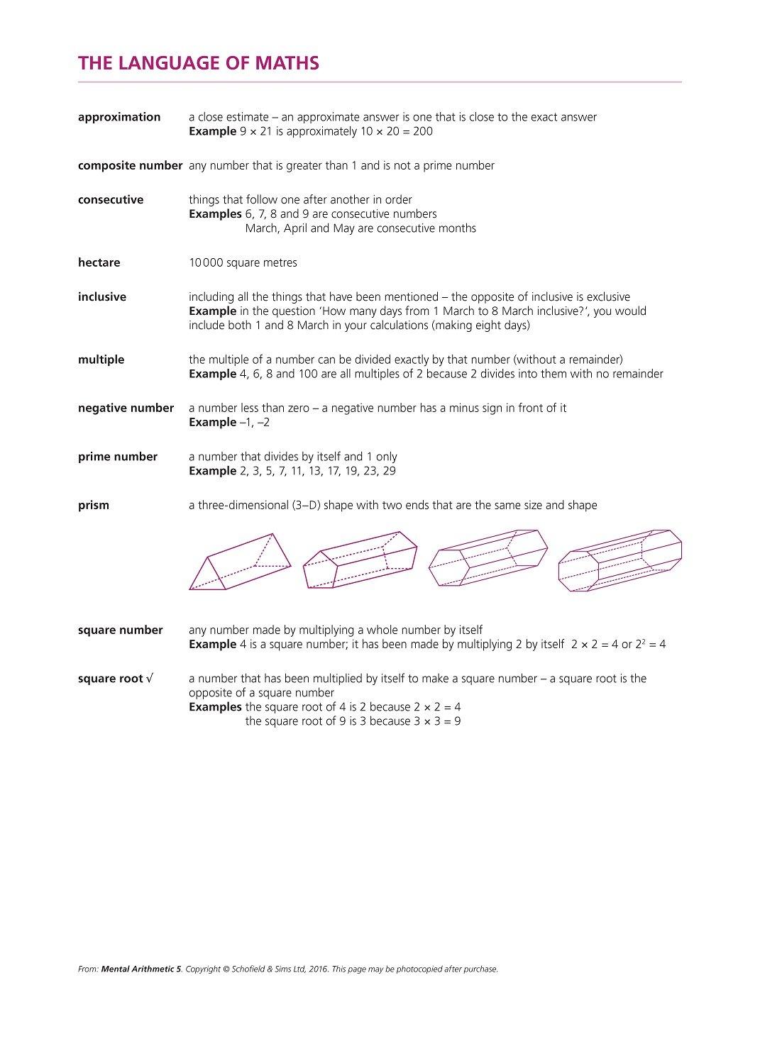 Mental arithmetic book 5 bk5 r goddard t 9780721708034 mental arithmetic book 5 bk5 r goddard t 9780721708034 amazon books fandeluxe Gallery