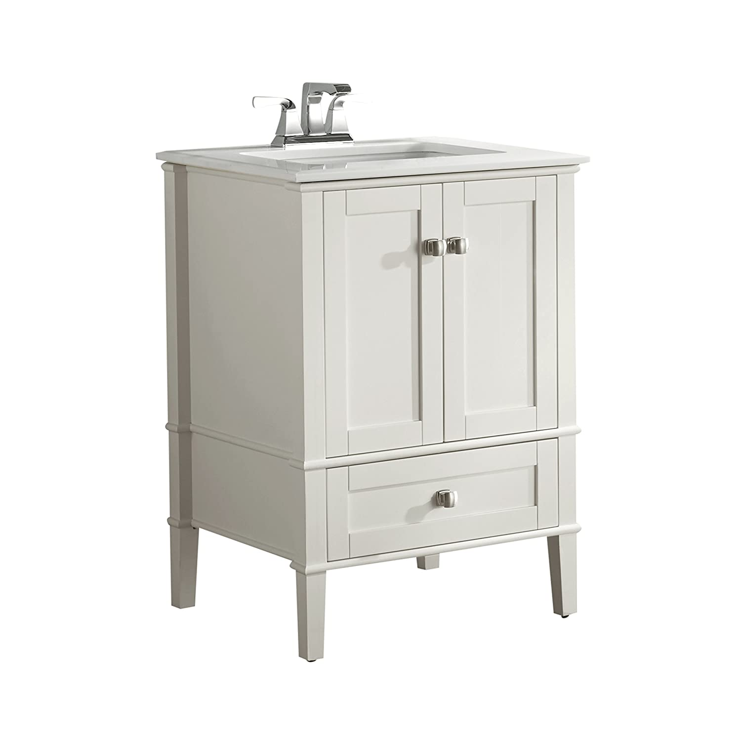 fab top sink white inch bathroom imagination single vanities vanity