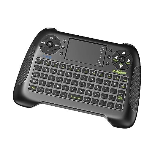 155 opinioni per Dootoper Wireless Mini tastiera con touchpad del mouse / 10 Meter Range / 76
