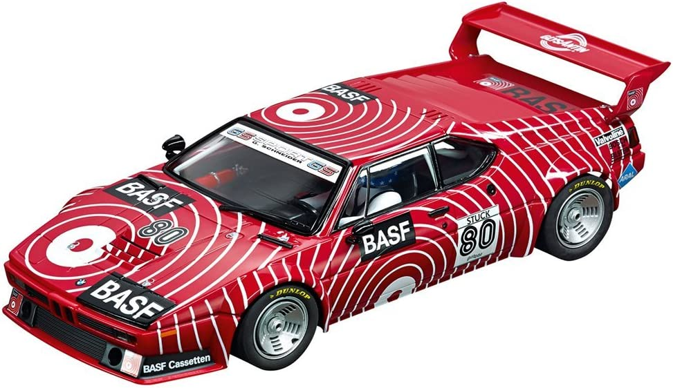 Carrera Digital 124 - Coche de Juguete BMW M1 Procar BASF No.80 1980, Escala 1:24 (20023821)