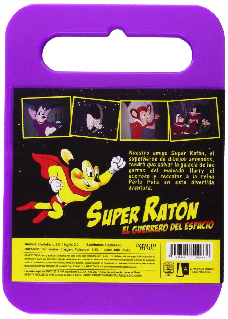 Super Ratn el guerrero del espacio DVD Amazones Dibujos