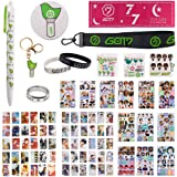 Fatyi Got7 Gift Set with Lomo Card, Keychain, Ring, Lanyard, 3D Sticker, Sticker, Pen, Wristband, Banner, Phone Stand, Seal