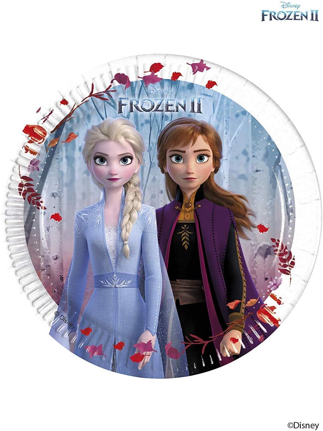 Disney Frozen 2- Platos, Color azul (Procos 99480) , color/modelo ...