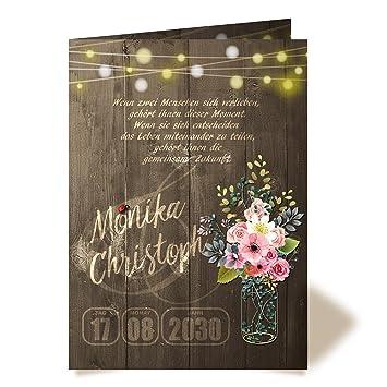 80 Einladungskarten Zur Hochzeit Vintage Rosen No 2 Klappkarten