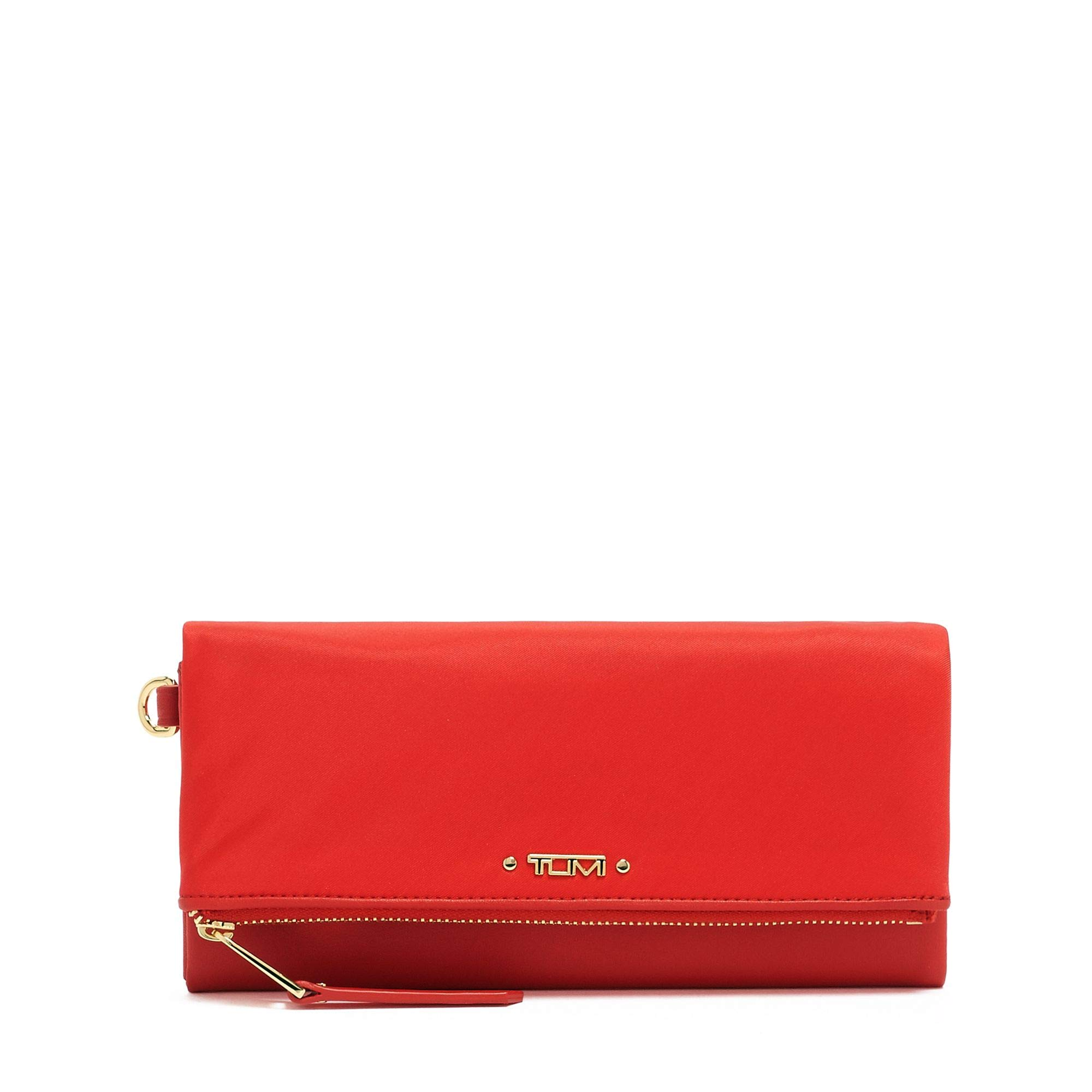 TUMI - Voyageur Flap Continental Wallet - Card Holder for Women - Sunset