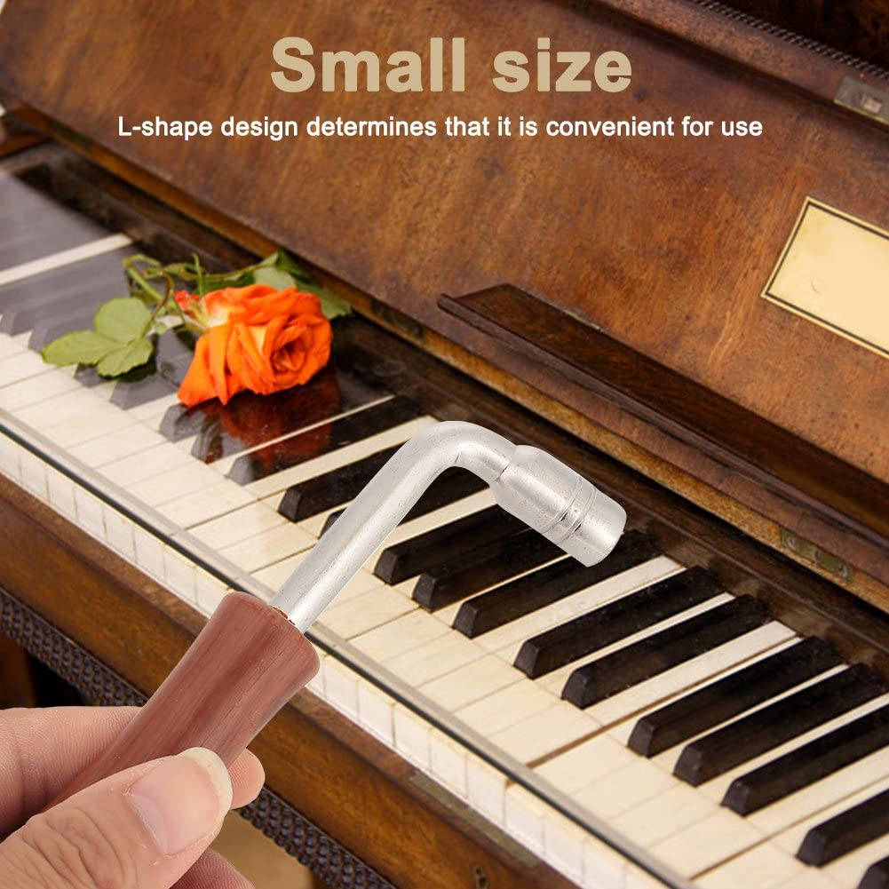 Piano Tuner Spanner Professional L-shape Piano Guzheng Tuning Wrench