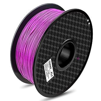 Purple 1 kg Spool Basics PLA 3D Printer Filament 1.75mm