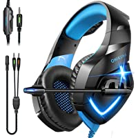 Deals on Onikuma Wired Over Ear Gaming Headphone with Microphone