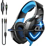 ONIKUMA Gaming Headset Over Ear Gaming Headphone with Microphone,Noise Canceling Stereo Sound Noise,Soft Memory Ear Cup…