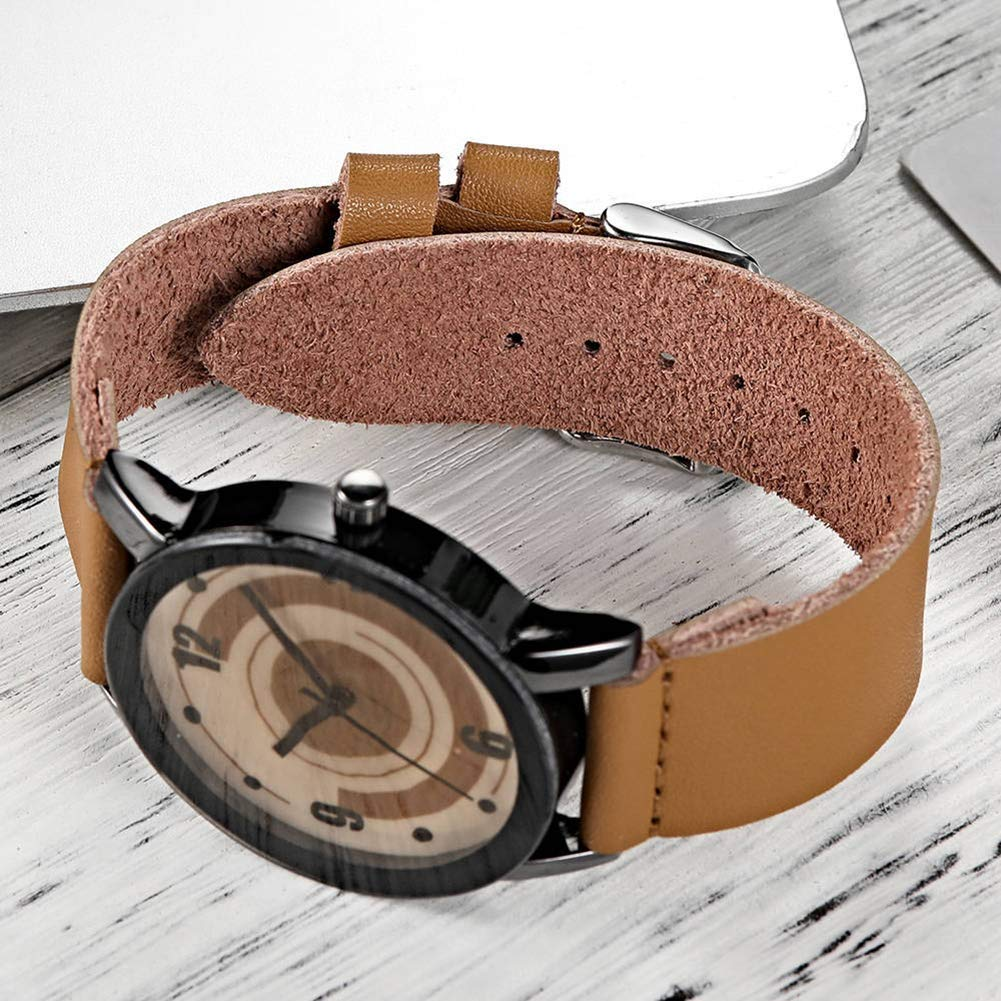 Nordic Flamingo Print Round Dial Mesh Strap Analog Quartz Women Wrist Watch Gift by Gaweb (Image #9)