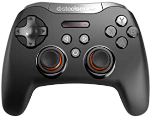 SteelSeries Stratus Bluetooth Mobile Gaming Controller - Android, Windows, VR - 40+ Hour Battery Life - Supports Fortnite Mobile