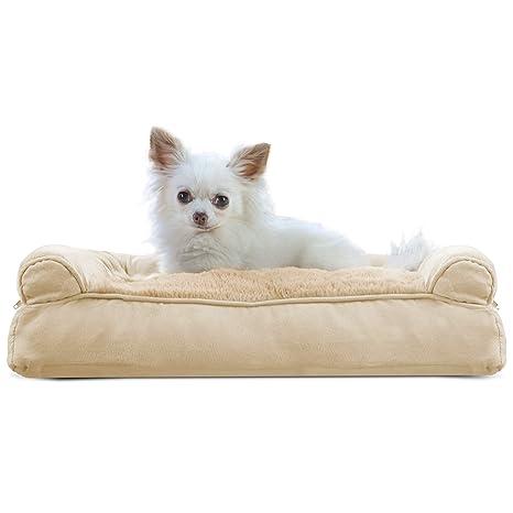 furhaven Deluxe perro sofá – almohada sofá cama para perros y gatos