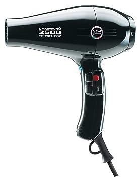 Gamma Piu 3500 Power - Secador de pelo, color negro: Amazon.es: Salud y cuidado personal