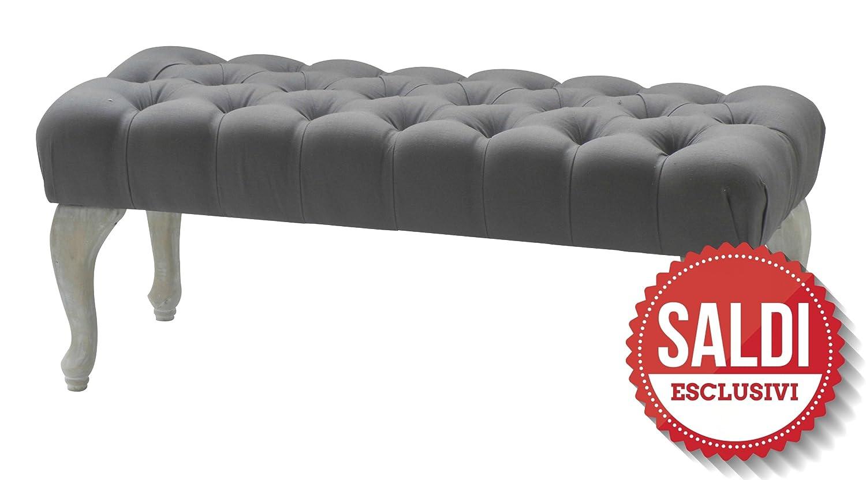 Sofa en tissu noir avec pieds