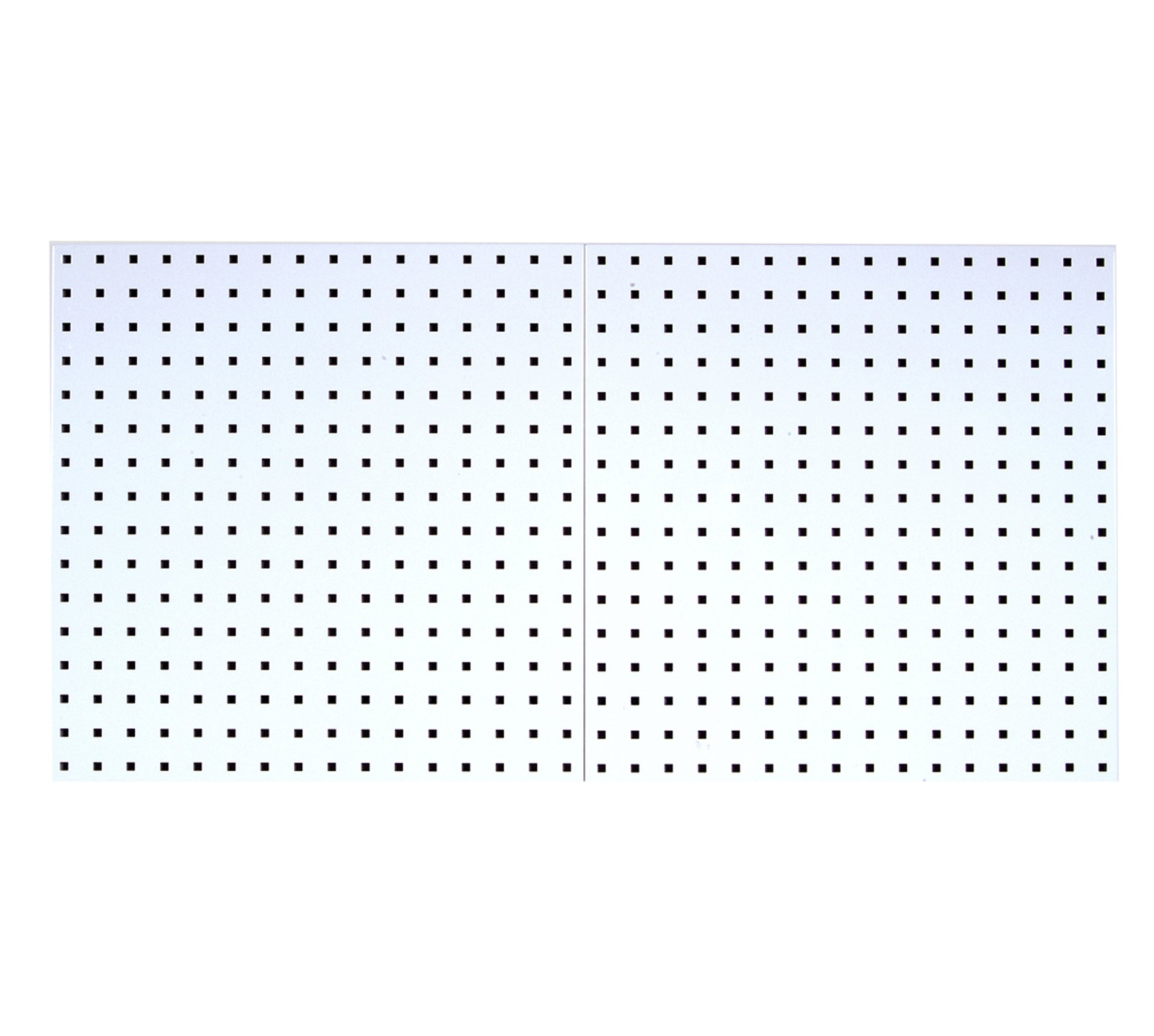 Triton Products LB1-W LocBoard 24x24x9/16-Inch Pegboards, White, 2-Pack